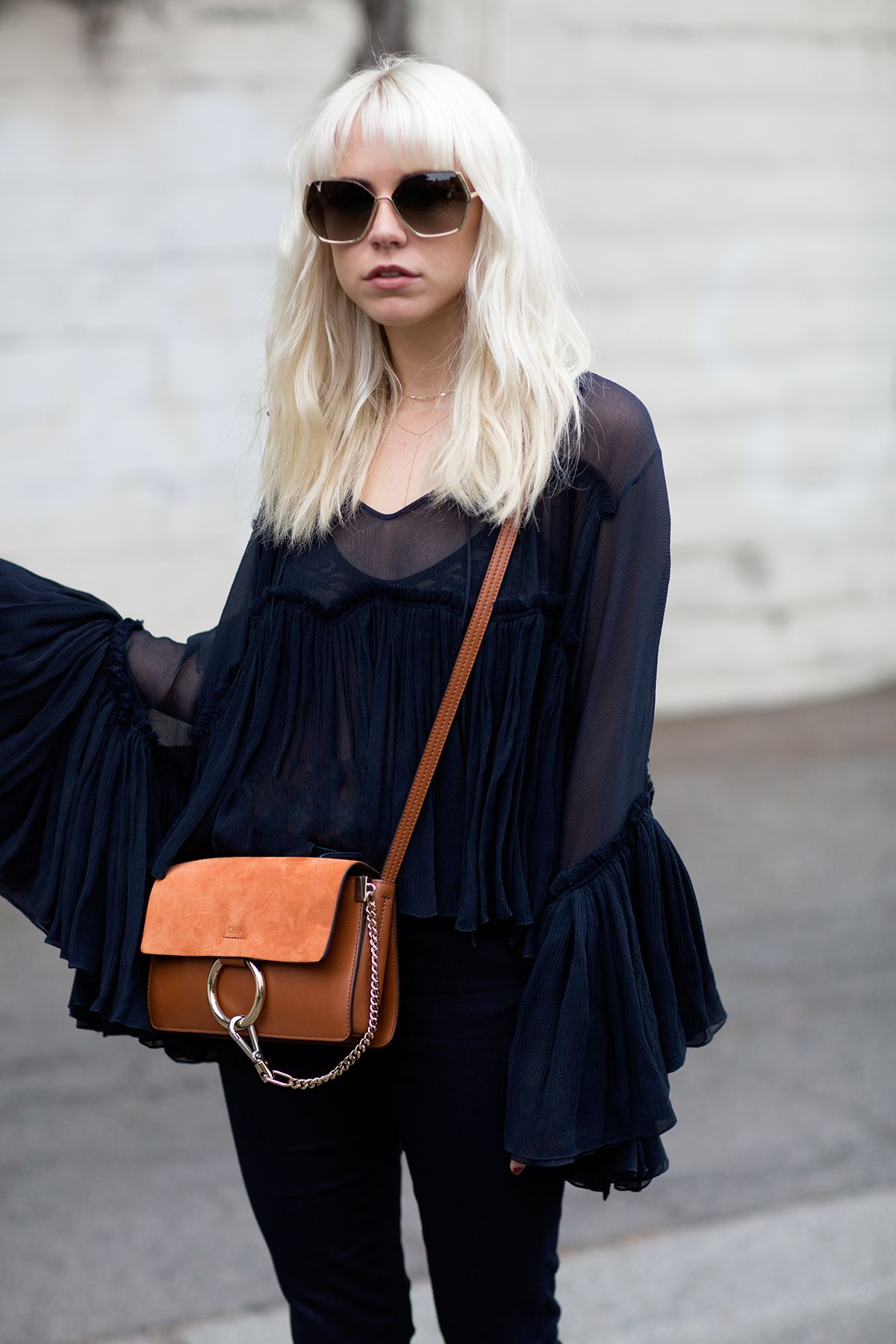 that Chloe blouse is ah-mazing. Courtney in LA. #AlwaysJudging