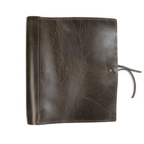 Soft Leather Three Ring Binder / Document Holder