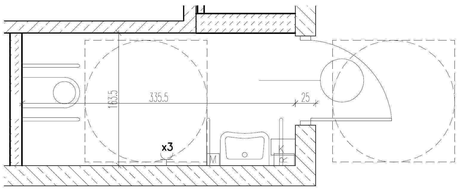 Wymiary Toalety Dla Wózka Szukaj W Google Small Bathroom