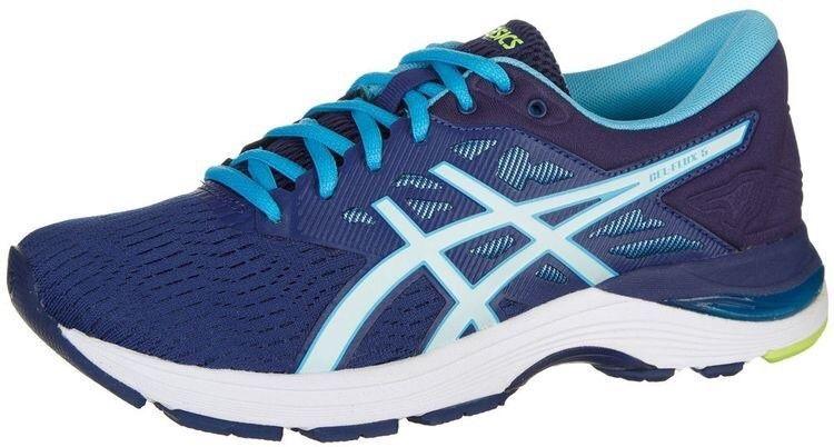 ASICS GEL Flux 5 Blue Print Soothing Sea Womens Running Shoe
