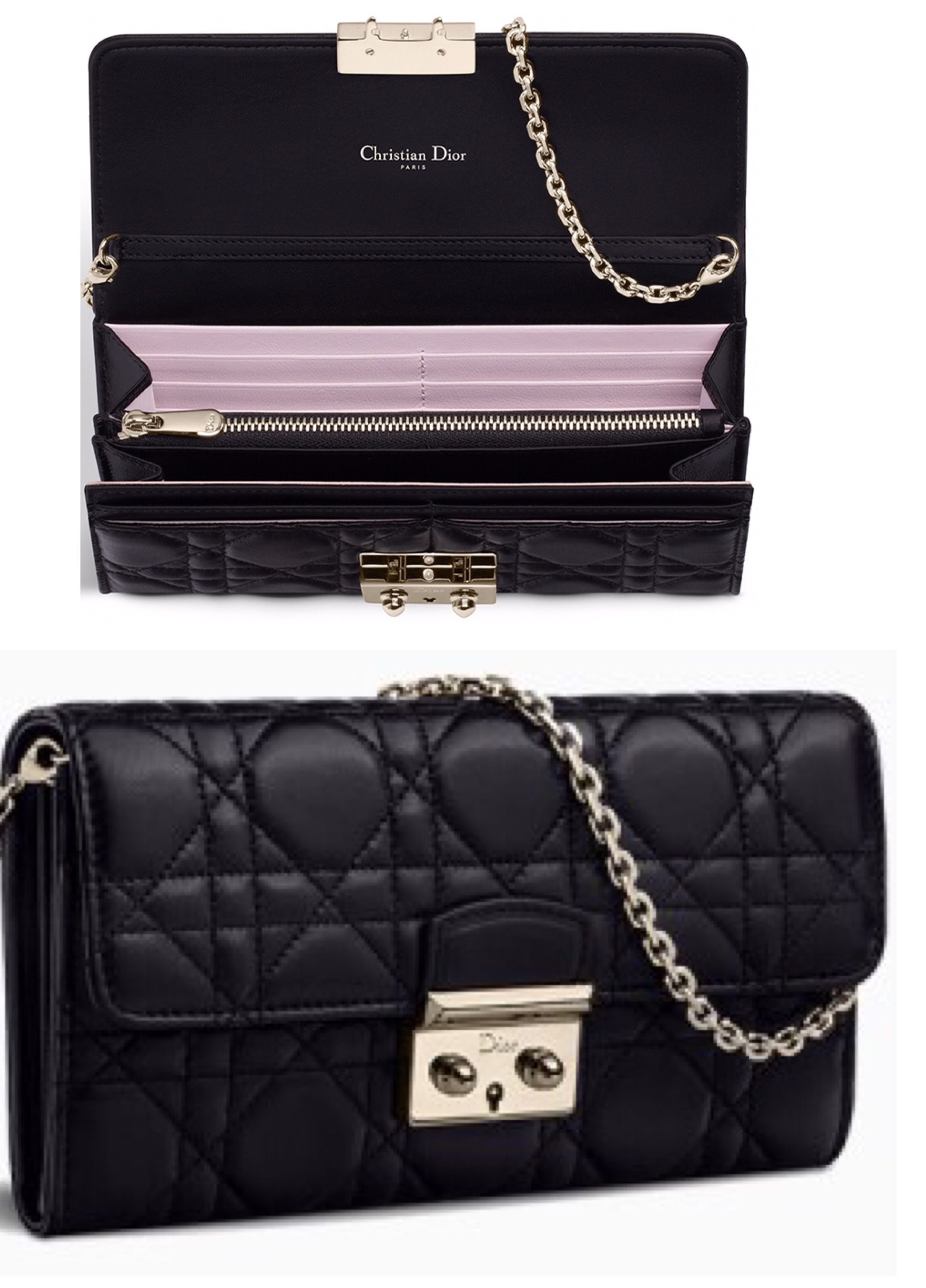 4d3fe05ca6f Miss Dior - Wallet on chain | Bags | Dior, Bags, Shoulder bag