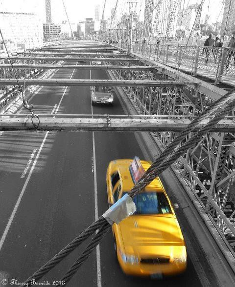 Yellow Cab, NYC, New York
