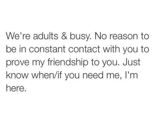 To all my friends that think i've cut them off
