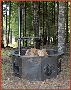 Steel Pits Custom Steel Fire Pits Outdoor Fire Pit Designs