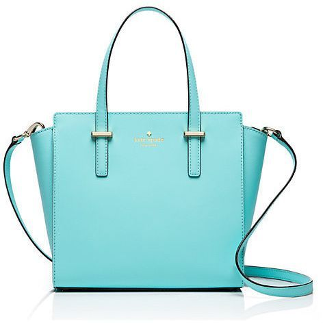 Kate Spade New York Cedar Street Hayden Atoll Blue Small Satchel ...