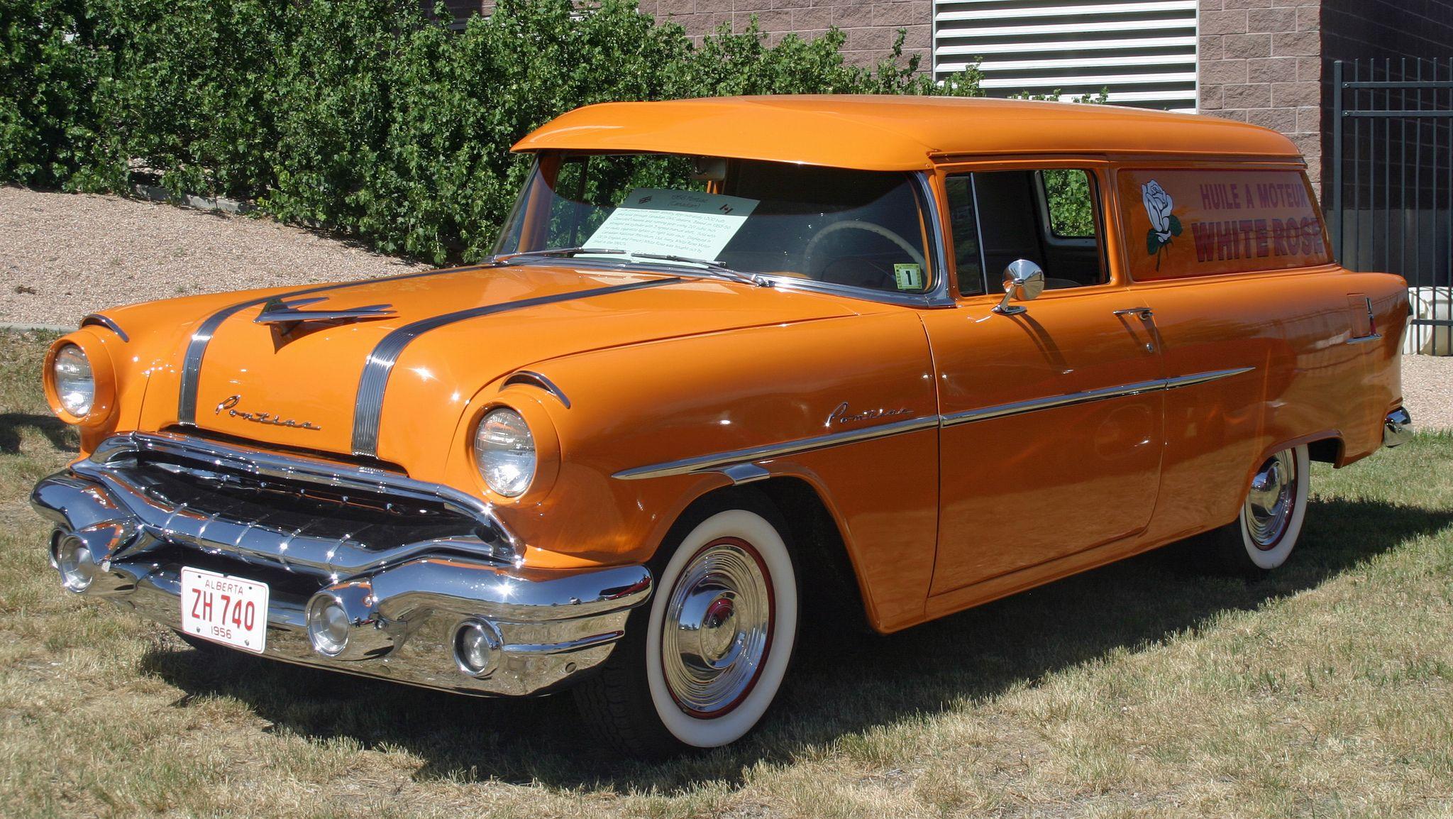 1956 Pontiac Sedan Delivery Station Wagon Cars Pontiac Pontiac