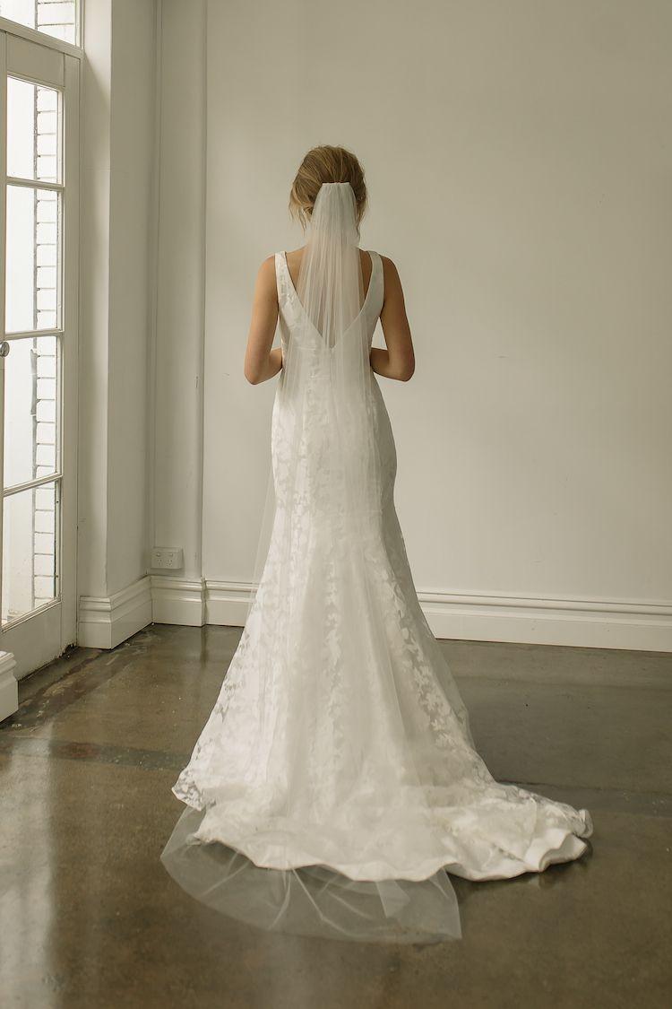 Photo of WYNTER   Classic Chapel Length Wedding Veil – TANIA MARAS   …
