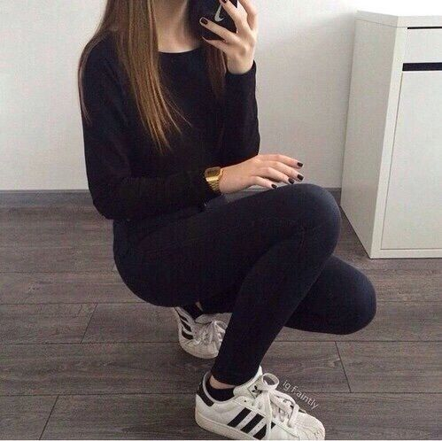 adidas, black, clothes, cool, fashion, shoes, style