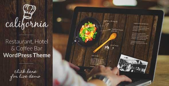 Download And Review Of California Restaurant Hotel Shop Wordpress Theme One Of The Best Themeforest Creatives Themes Restaurant Hotel The Globe