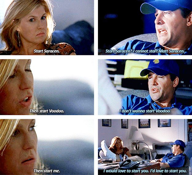 Coach Taylor knew she was the best thing he had.