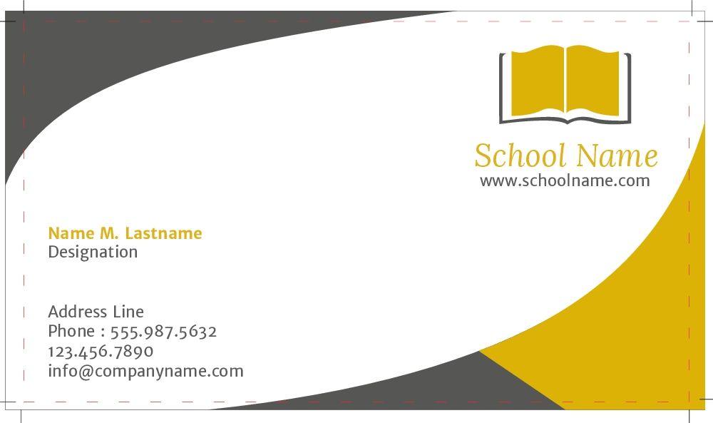 Business Visitenkarten Design Sowohl Online Als Auch Im