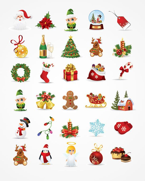 Handmade Christmas Ornament Religious Ornament Icon: Christmas Symbols Clip Art - Google Search