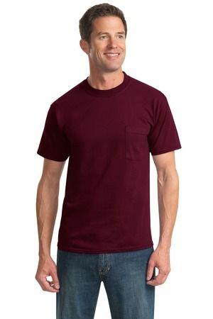 JERZEES Heavyweight Blend 50/50 Cotton/Poly Pocket T-Shirt  29MP #tshirt #clothing