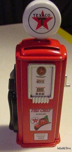 Bell Fire-Chief TEXACO Gasoline Cast Iron