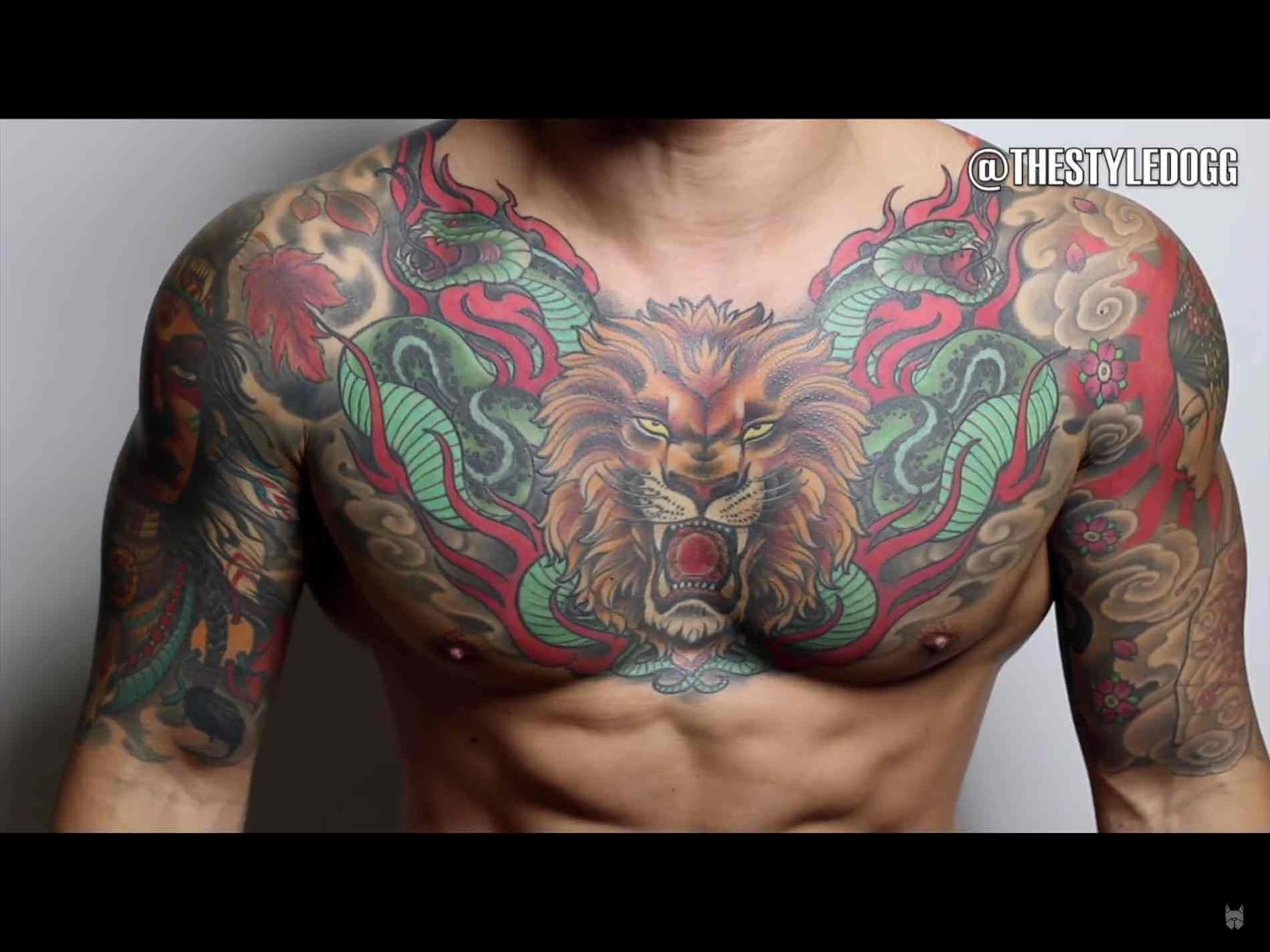 69 Cool Chest Tattoos: The 100 Best Chest Tattoos For Men