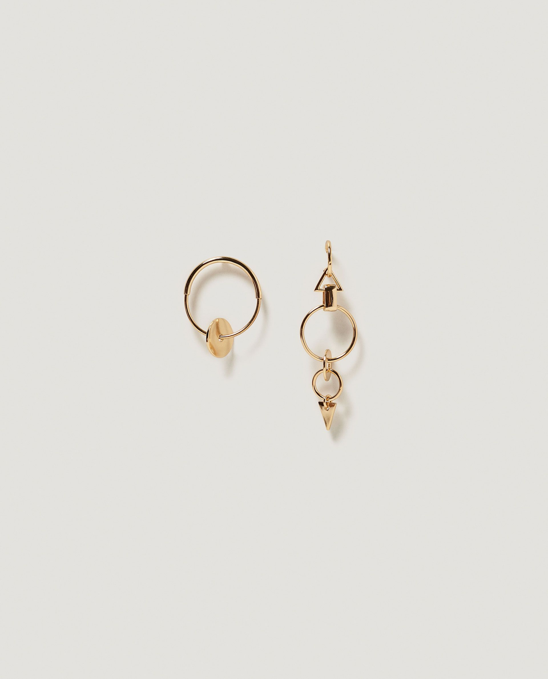 asymmetric gold camryn bonas drop oliver earrings pebble jewellery