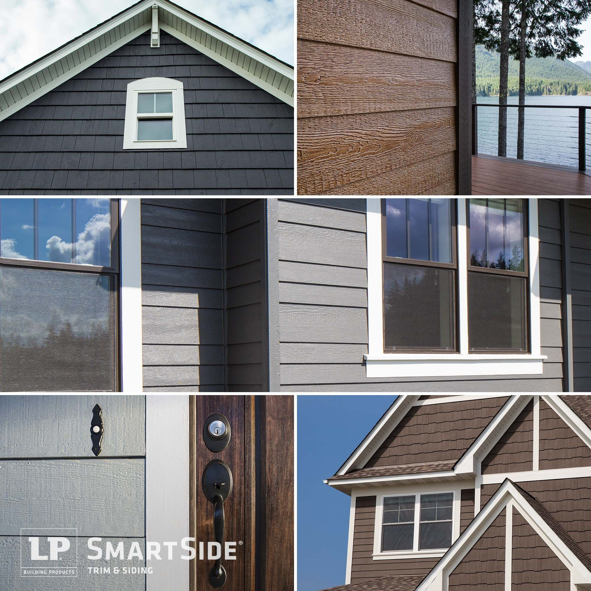 Did you know all lap siding does not look the same lp smartside siding lets you choose from a for Diamond kote lp siding colors