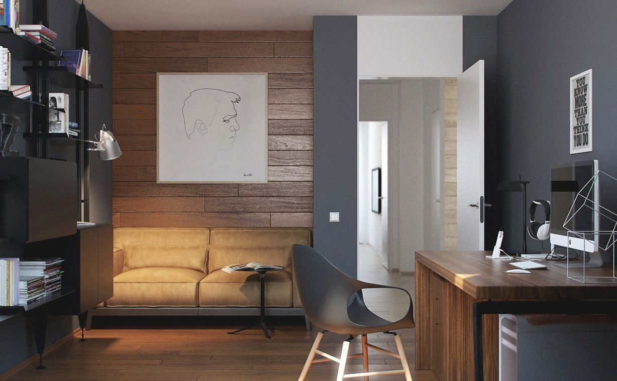 Russian Apartment Study Area 2 | Office spaces, Spaces and Loft ideas