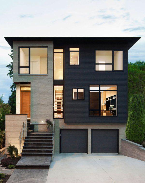 graue fassade ja das ist eine sehr gute wahl h user pinterest haus graue fassade und. Black Bedroom Furniture Sets. Home Design Ideas
