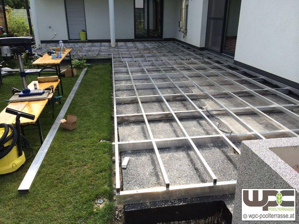 Verlegehinweise Der Premium Dielen Terrassendielen Wpc Terrassendielen Wpc Unterkonstruktion