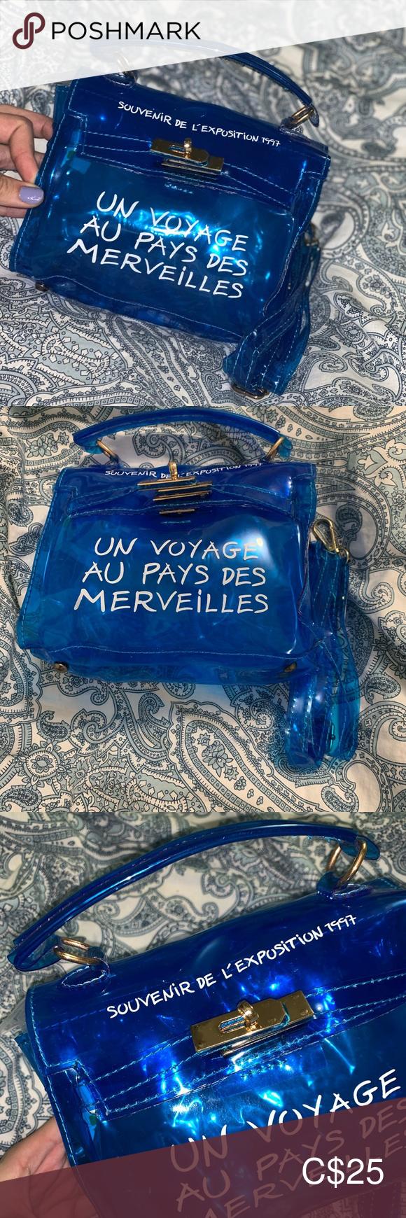 clear blue jelly small crossbody purse small crossbody purse purses crossbody small crossbody pinterest