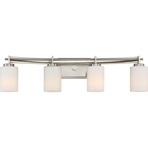 Taylor Brushed Nickel Four-Light Vanity