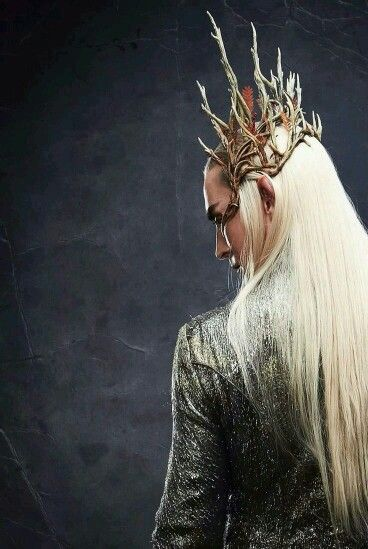 Lee Pace as Thranduil in The Hobbit