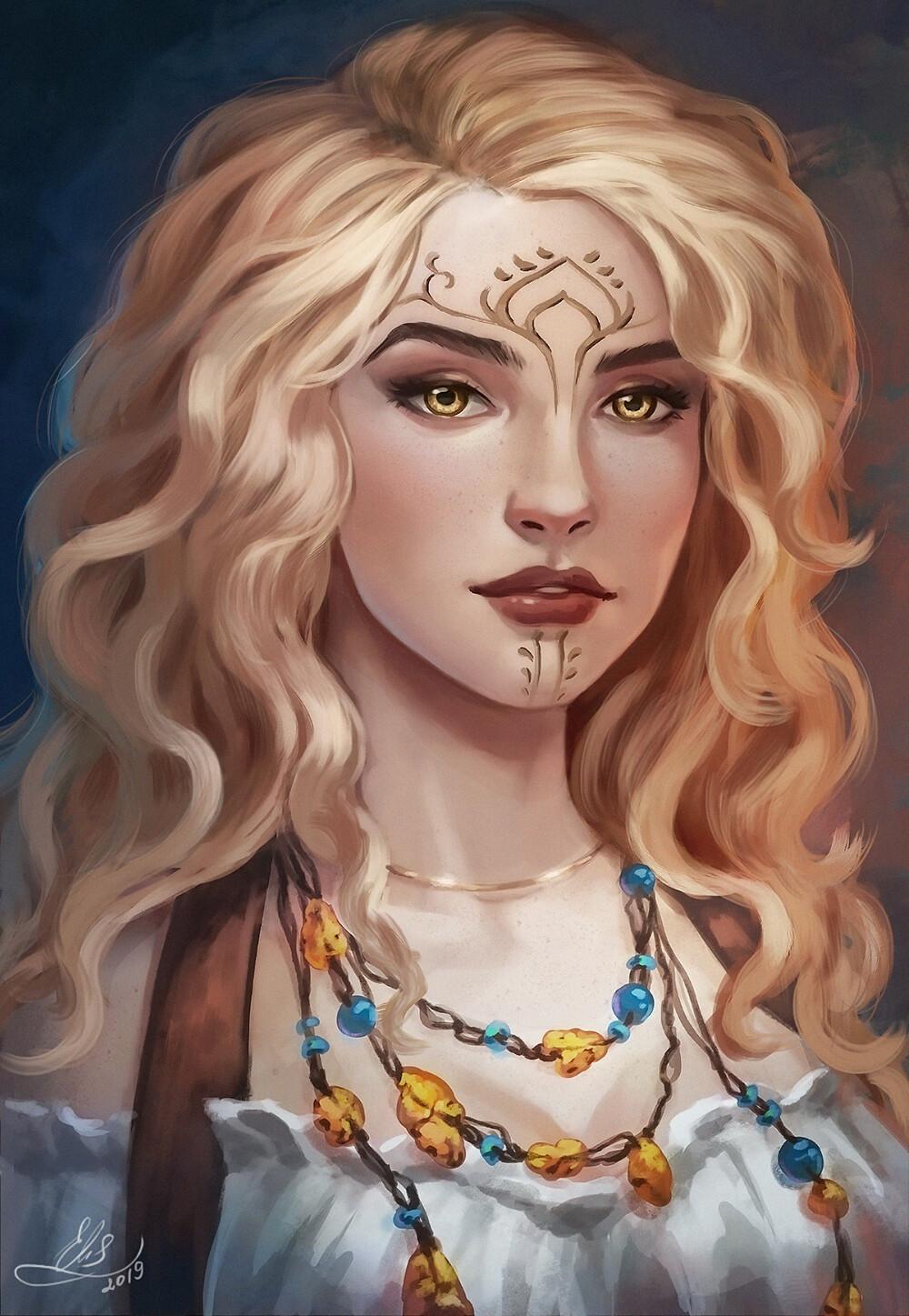 Photo of Character Portrait, Alice Voit