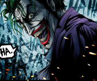 Dc Comics The Joker Artwork Laughing HD Wallpaper