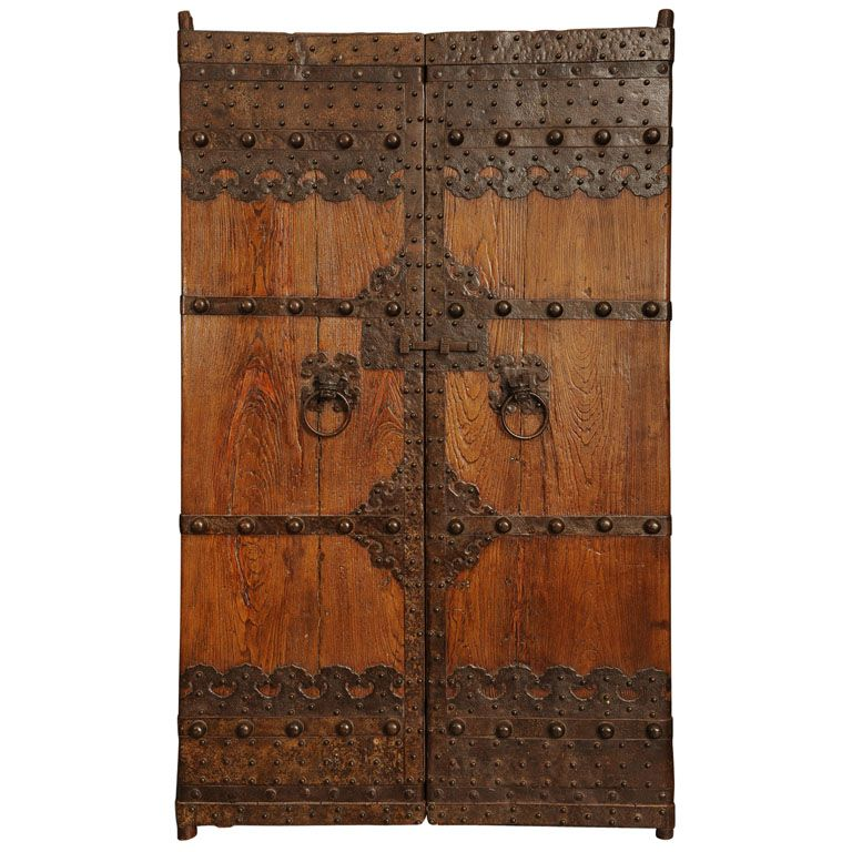 Pair of Beautiful Ching Dynasty Doors  sc 1 st  Pinterest & Pair of Beautiful Ching Dynasty Doors | Doors Gate and Detail