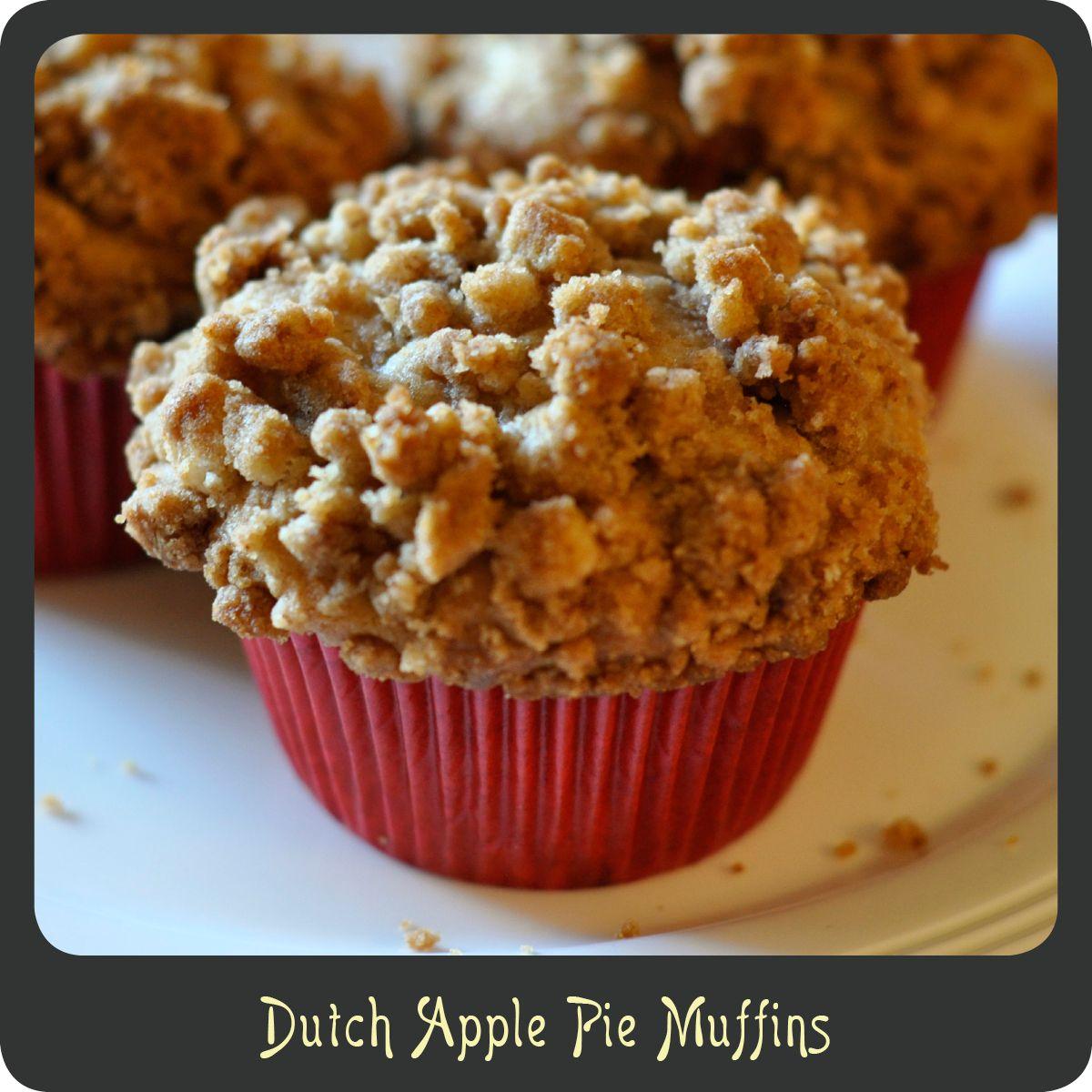 Recipe Dutch Apple Pie Muffins Apple Pie Muffins Dutch Apple