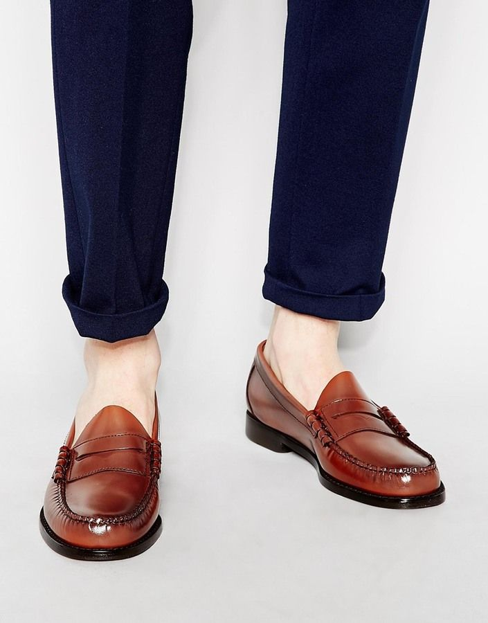 Penny loafers · G.H. Bass GH Bass Larson Penny Loafers - Brown