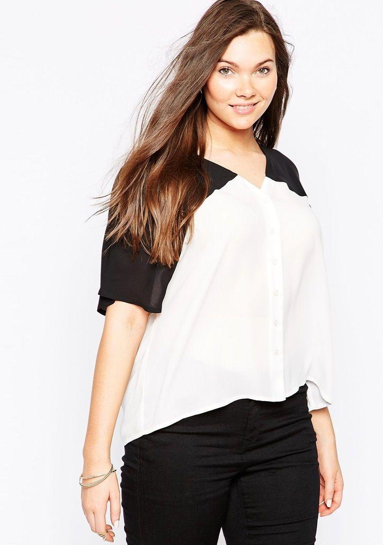 c3efe959e8 Blusas Para Damas Gorditas En Lindos Modelos