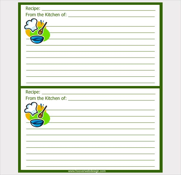 Image result for Printable cards chicken | Recipe cards ...