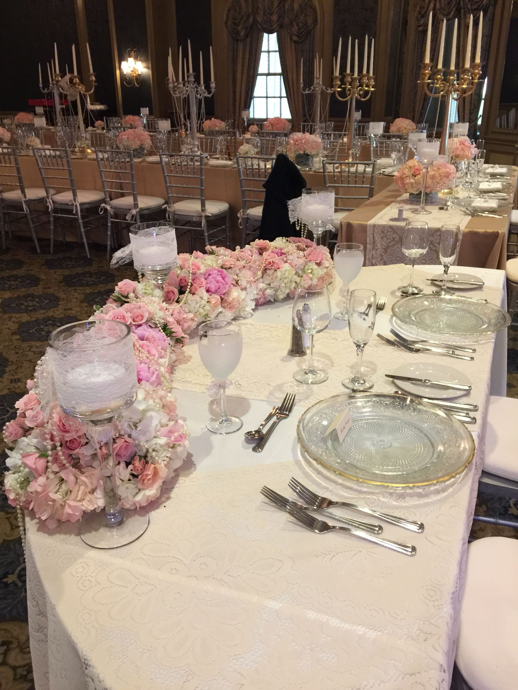 victorian style wedding | table design - sweetheart tables