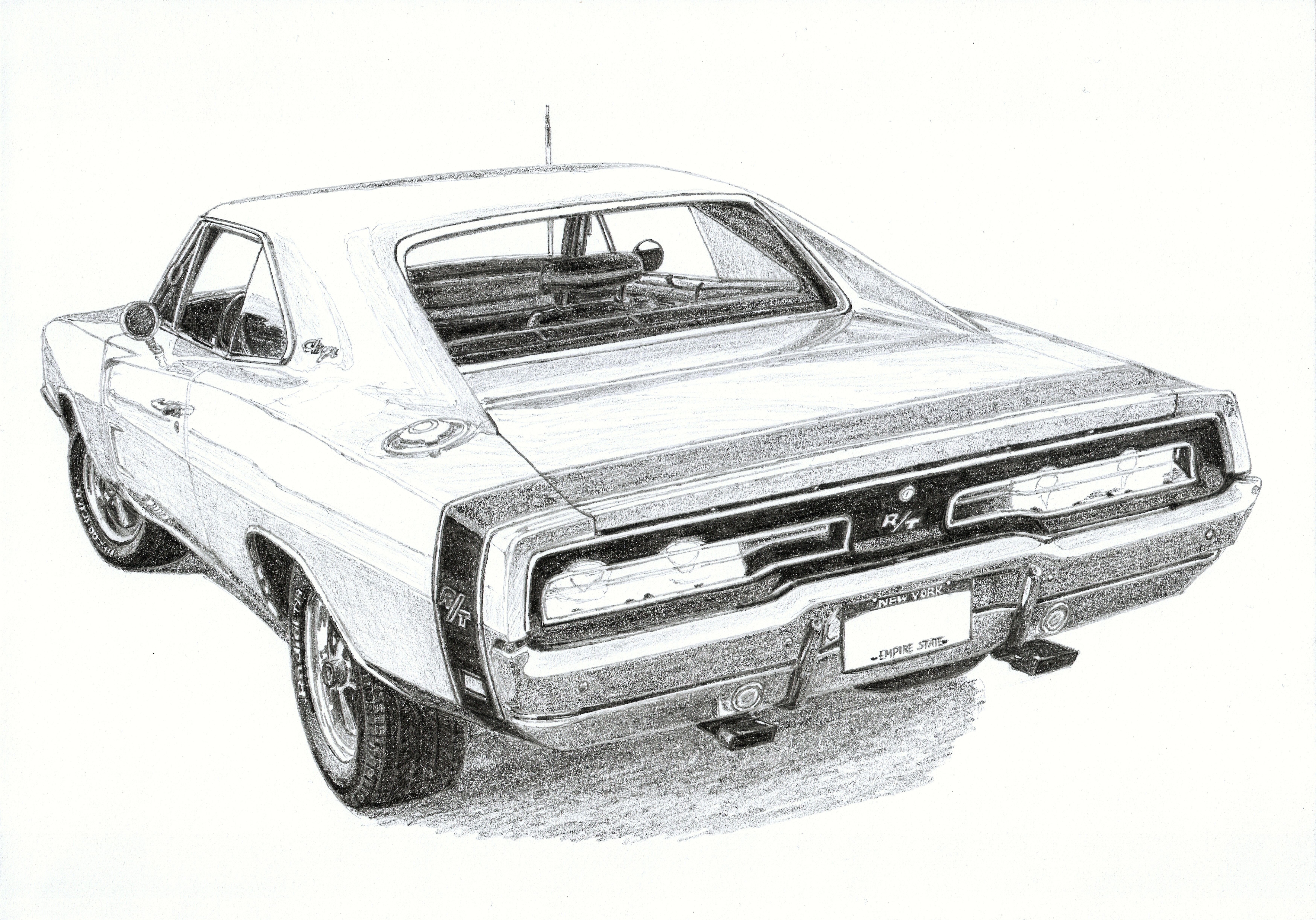 Dodge Charger R T 440 Magnum 2 3 Featured In Many Movies