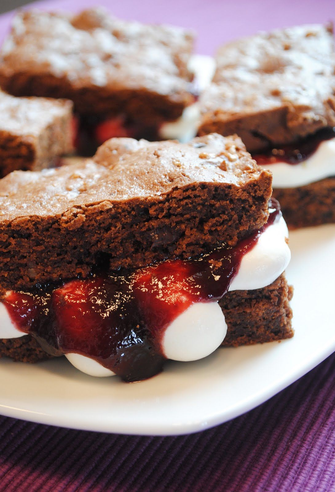 Schwarzwälder Kirsch - Brownies