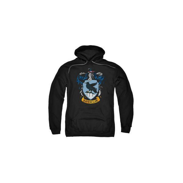 6fec7701f01 Ravenclaw Crest Adult Black Hoodie (4.530 ISK) ❤ liked on Polyvore  featuring tops