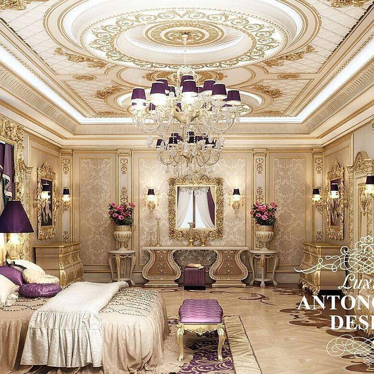 Luxury Bed Room: @Regrann From @antonovich.design.astana