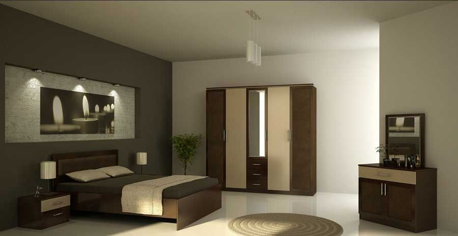 Master bedroom design for simple modern bedroom interior for Interior texture paint designs