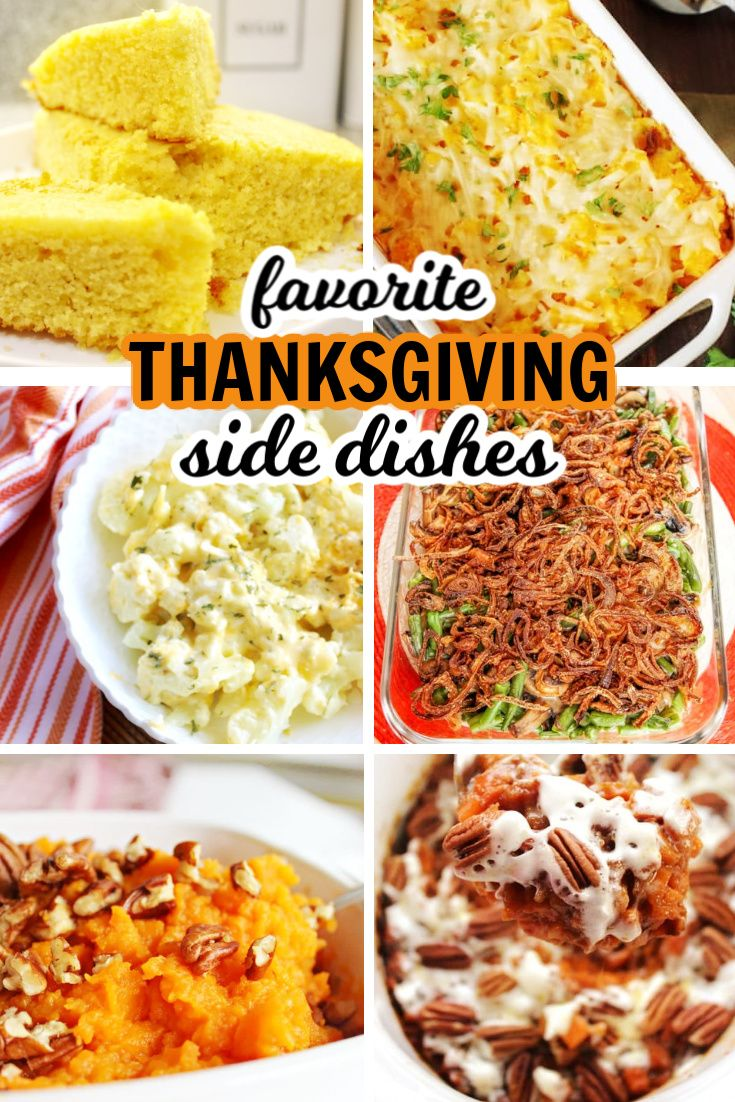 Thanksgiving side dishes that are classic and simple to make. We love all of the…