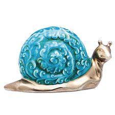 Snail Ceramic Statue