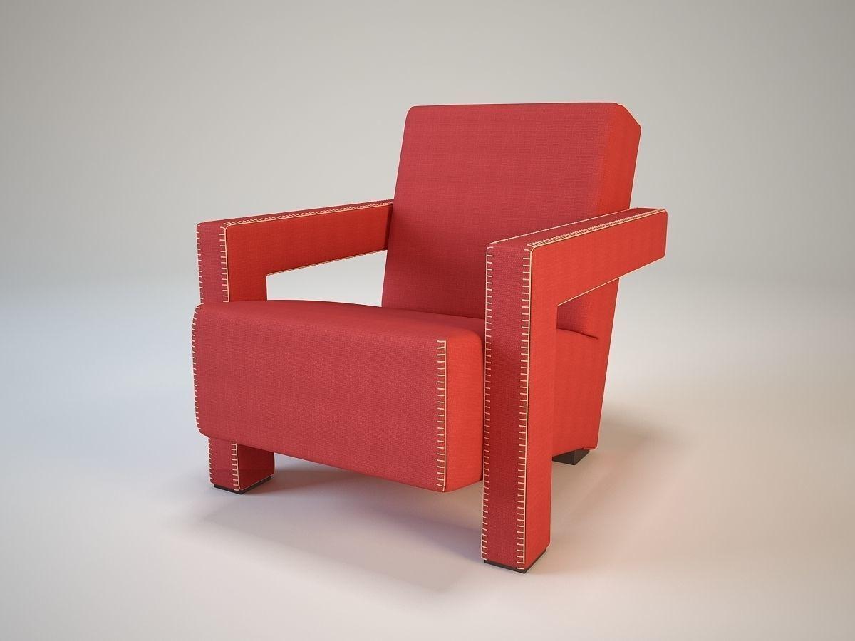 3D model Cassina 637 Utrecht | CGTrader