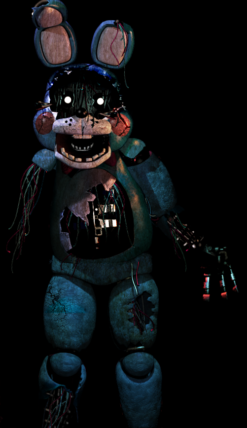 Fnaf 3 Toy Bonnie Not Sure If This Is Really In The Game Or Not But