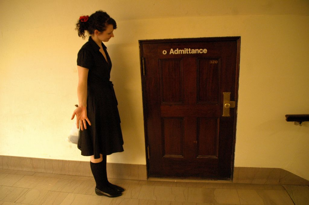 Tiny door vs Tall girl | Flickr - Photo Sharing! & Tiny door vs Tall girl