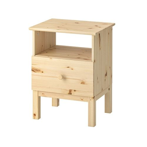 IKEA TARVA, Bedside table, , Made of solid wood, which