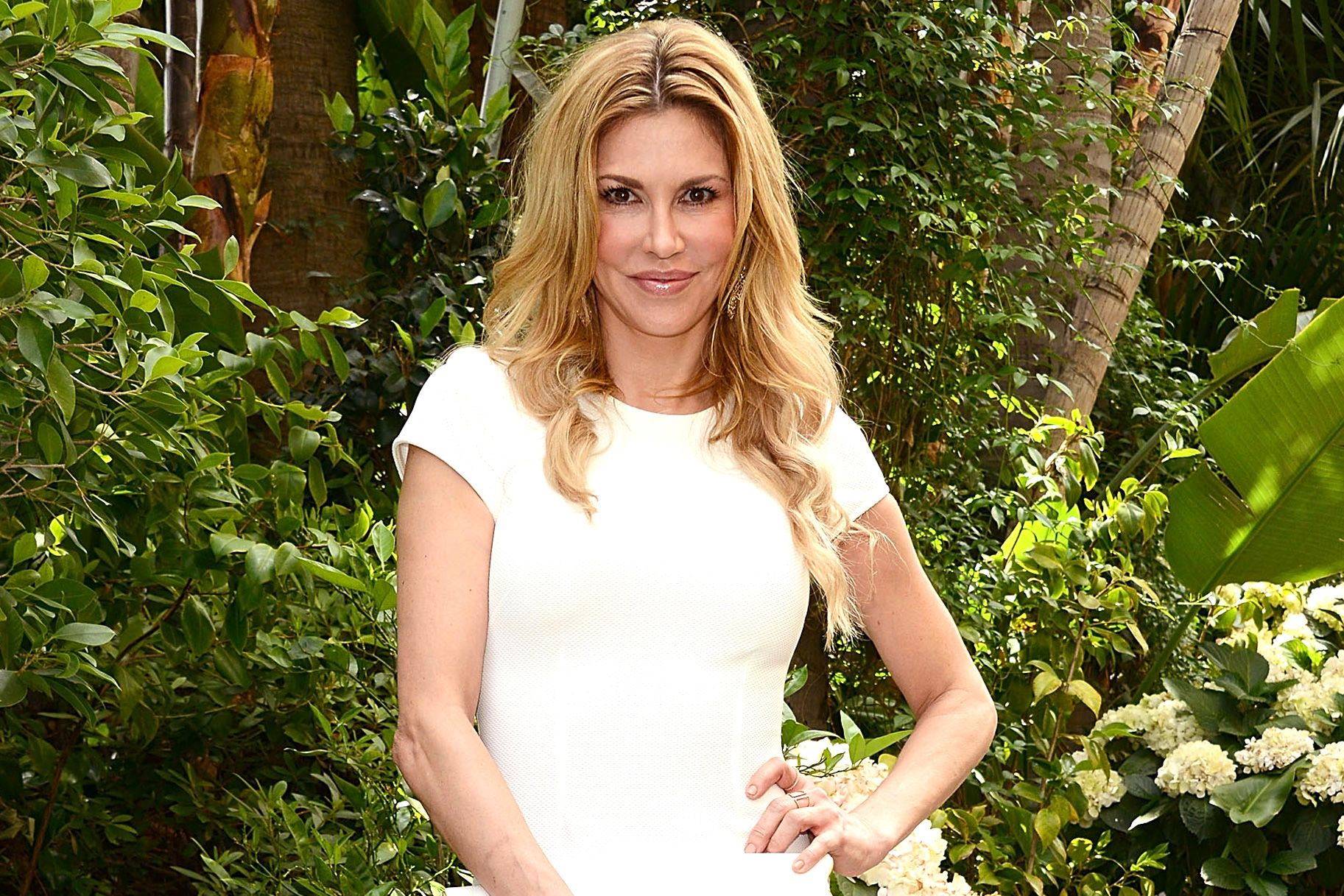 """Cheers! After teasing details last year about her latest venture into vino, Brandi Glanville has now unveiled the name of her highly-anticipated line of wines. """"It's called Unfiltered Blonde,"""" she tells the Daily Dish. """"It's a Sonoma County Chardonnay. It's been over a year in the making to perfect the taste!"""""""