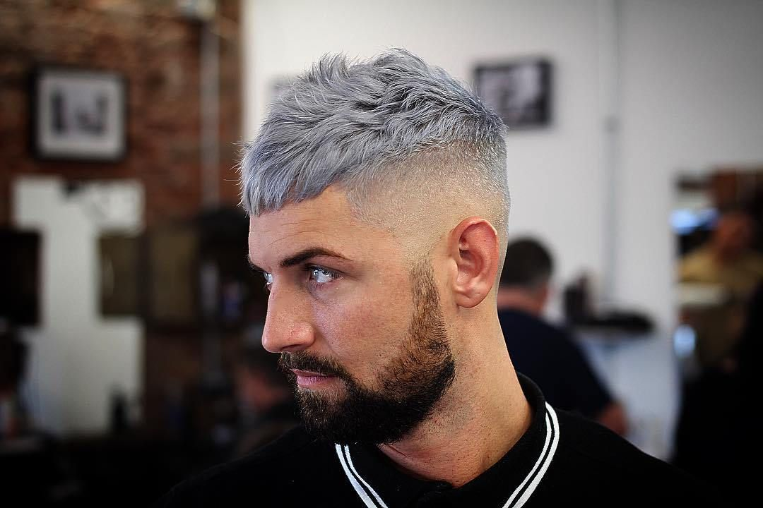 Fade Haircuts For Blonde Hair Blonde Hair Blue Eyes Makeup