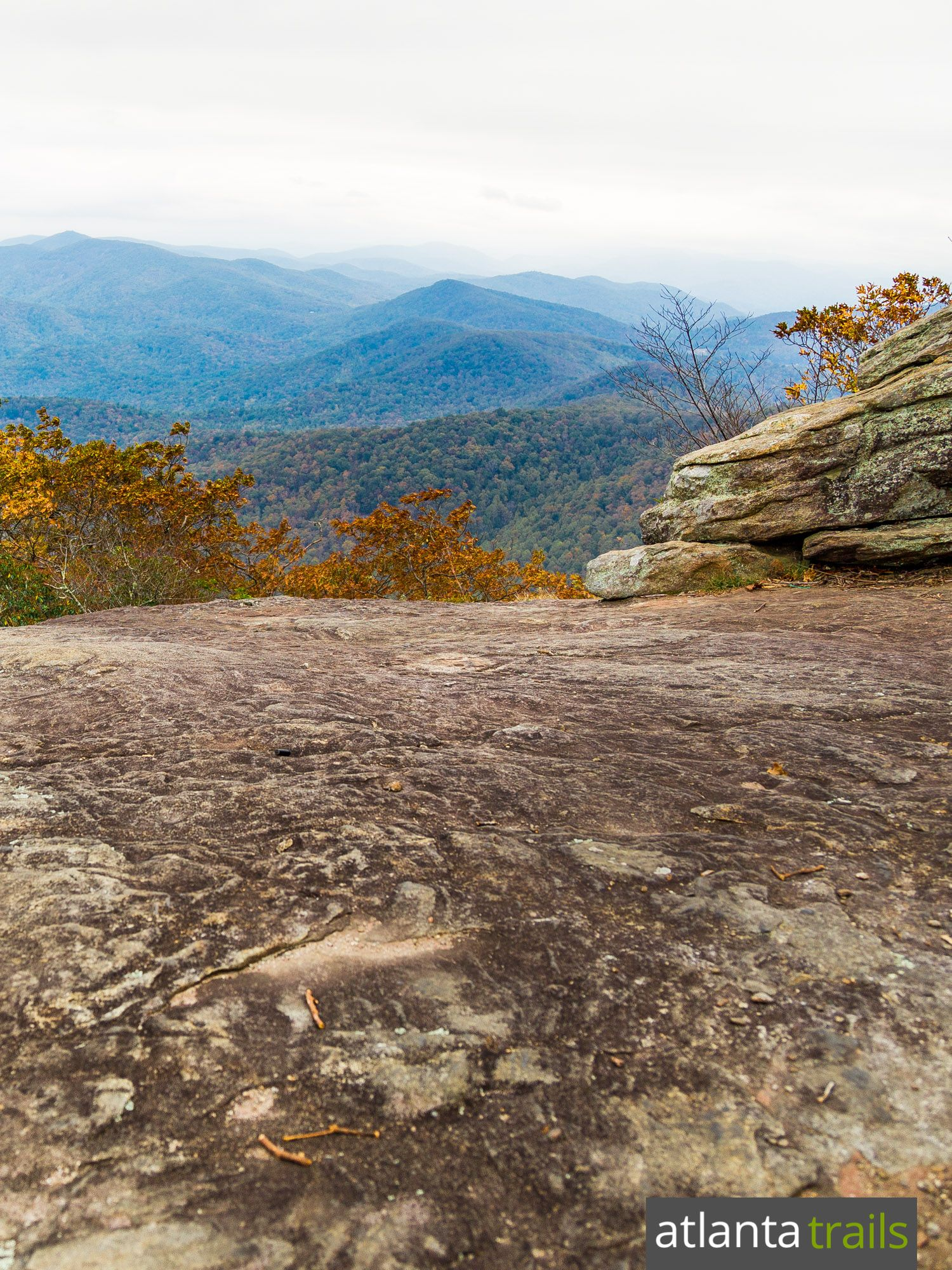82812743373 Hike to stunning summit views at Blood Mountain on the Appalachian Trail in…