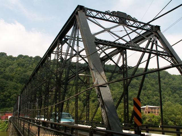 Historic Fallston Bridge Beaver Falls Beaver County Bridge